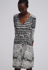 Anna Field - Vestido de algodón - black/beige