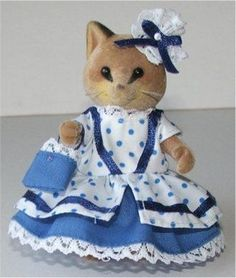 Victorian Dress royal blue