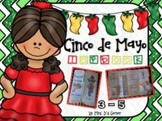 Celebrate Mexico defeating the French army this Cinco de Mayo with this commemorative foldable lapbook. Contribute to the Mexican celebration and pride by teaching your students about this important cultural holiday. - a boy and girl cover - 8 different foldables - 3 - 5 usability - how to for each foldable with picture guide - 4 W's of Cinco de Mayo (who, what, where, when) - Cinco de Mayo VS 4th of July Venn diagram - Mayan Calendar glyphs ...