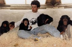 Jim Cronin, campaigner against the illegal trade in primates and founder of the animal sanctuary Monkey World, in Dorset