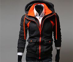 Assassins Creed Hoodies / Men Casual / Winter Jackets