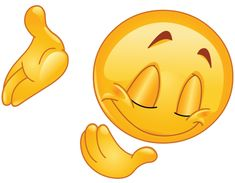 Cartoon of a Happy Emoticon Smiley Holding a Thumb up - Royalty Free Vector Clipart by yayayoyo