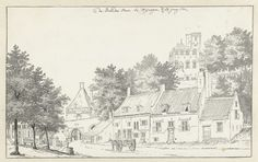 De Hoenderpoort te Nijmegen, Jan de Beijer, 1752