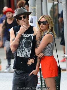 Ashley Tisdale And her fiance Christopher French holding hands in New York City http://icelebz.com/events/ashley_tisdale_and_fiance_christopher_french_holding_hands_in_new_york_city/photo2.html