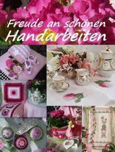Dekorieren mit schönen Handarbeiten www.gebert-handarbeiten.de