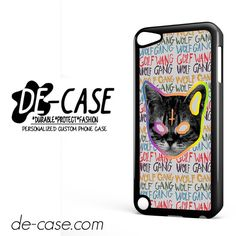 OFWGKTA Golf Wang Wolf Gang The Creator Odd Future Crew Tyler Earl DEAL-8124 Apple Phonecase Cover For Ipod Touch 5