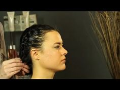 How to Braid Short, Wet Hair for Waves : Shoulder-Length & Short Hairstyles #HairTutorail #DIYHair