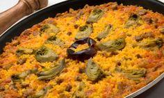 Receta de Arroz al horno con alcachofas - Karlos Arguiñano