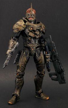 Maverick (Marvel Legends) Custom Action Figure by Shinobitron Base figure: Jor-EL Movie master