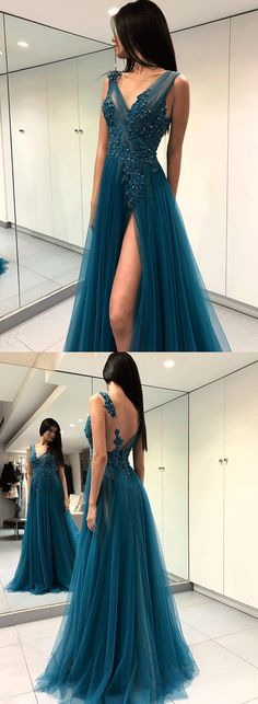 On Sale Delightful Lace Prom Dresses, Backless Prom Dresses, Long Prom Dresses, Prom Dresses Blue Backless Prom Dresses, A Line Prom Dresses, Lace Evening Dresses, Cheap Prom Dresses, Dance Dresses, Long Dresses, Dress Prom, Dress Long, Prom Gowns