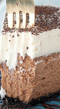 Baileys Irish Cream Chocolate Cheesecake