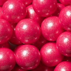 Shimmer Bright Pink Gumballs (2 lbs)