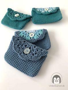 Free Crochet Bag, Crochet Purses, Crochet Yarn, Crochet Symbols, Crochet Patterns, Manta Crochet, Knitted Shawls, Yarn Crafts, Small Bags