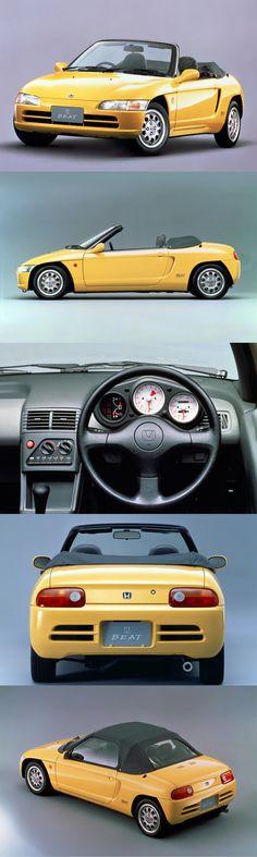 1991 Honda Beat / 63hp656cc L3 / 760kg / Japan / yellow / 17-340