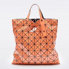 love this orange Bao Bao Bag by Issey Miyake #werk