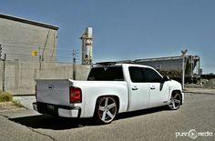 Dropped Trucks, Lowered Trucks, Gm Trucks, Chevy Trucks, 09 Chevy Silverado, Silverado Crew Cab, Silverado 1500, Low Life, Car Goals