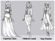 Outfit Design : Batch 4 (CLOSED) by JessyB-Design.deviantart.com on @DeviantArt