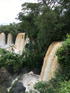 Lush Iguacu falls