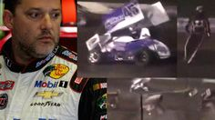 (+VIDEO) Tony Stewart atropelló a otro piloto en una carrera #NASCAR #TonyStewart