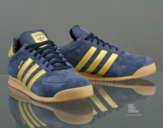 adidas Originals Milano – New Navy / Metallic Gold / Gum