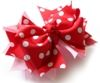 How To Make 2-Layer Interchangeable Hair Bows With Spike--Part I