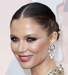 Georgina Chapman at The Oscars 2015. Click to see more of the best beauty looks from the 87th Academy Awards. (Photo: Noel West for The New York Times)