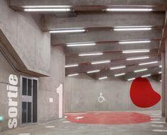 """Parking enterré """"Vaisseau Mère"""" par Architecture Anonyme pour Paris Habitat - Journal du Design"""