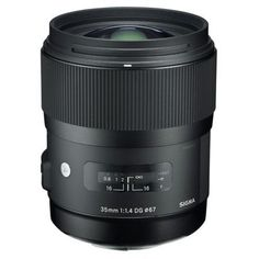Sigma 35mm f/1.4 DG HSM ART Lens for Canon EOS Cameras