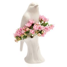 Porcelain Bird vase by Chive now featured on Fab.