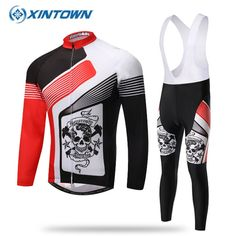 91.98$  Know more  - 2017 Pro Sport Cycling Jersey Long Sleeve Men Ropa Ciclismo Breathable Mtb Bike Clothes Bicycle Clothing Red