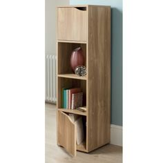£19.99 314768-Turin-4-Cube-Shelves-oak-finish