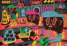 SuperDD (Andrea Sagardoy)   Ilustradores Argentinos