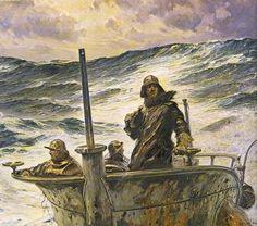 U-Boats ~ The Art of Pierangelo Boog: Claus Bergen ~ BFD