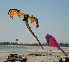 Colorful Kites - Best Photo Picks From An International Kite Festival.
