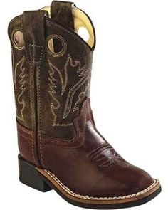6e23498d1dd7 Old West Ultra Flex Broad Square Toe Boot - Youth (Children s) Boys Western  Boots