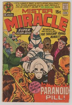 Mister Miracle V1 3.  VG.  August 1971.  DC by RubbersuitStudios #jackkirby #mrmiracle #comicbooks