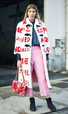 Milan Fashion Week street style is once again all about Gucci, Gucci and more Gucci. See our favourite outfits from Milan so far...