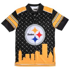 Pittsburgh Steelers Men's Thematic Polo Shirt