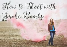 Out of the Notebook and into the blog: How to use Smoke Bombs to create Dramatic Senior Portraits
