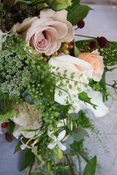 Wild flower bouquet for september wedding