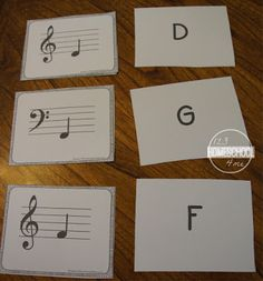 teach kids musical notes with these free printable music flashcards for kidnergarten, 1st grade, 2nd grade, 3rd grade, 4th grade