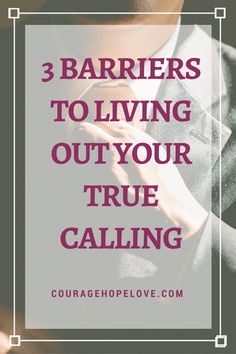 Discover what holds you back from finding your calling and living it now. Career search and finding your calling may be different things!