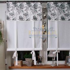 Komplet roletek tubek liscie szary :: Rustyka.pl Wardrobe Rack, Sweet Home, Sew, Furniture, Home Decor, Blinds, Home, Blue Prints, Kitchens