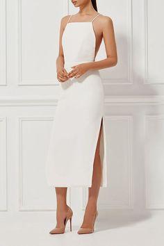 ALESSANDRA SILK DRESS MILK - Shop