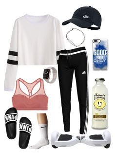 """""""They see me roll in'"""" by kamdanielson on Polyvore featuring adidas, Victoria's Secret, NIKE and Casetify"""