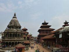Plaza Durbar de Patan, Nepal