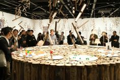 More Trees Exhibition by Torafu Architects