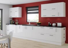 Gloss White Kitchen from Sigma 3 Trade