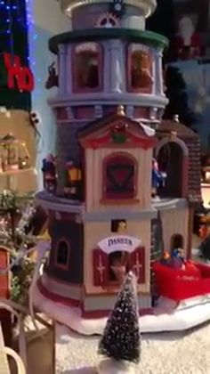 """Lemax 2016 """"Sights and Sounds"""", perfect for your """"Santa's Wonderland"""" or """"North Pole"""" display. North Pole, Wonderland, Santa, Display, Christmas Ornaments, Holiday Decor, Home Decor, Floor Space, Decoration Home"""
