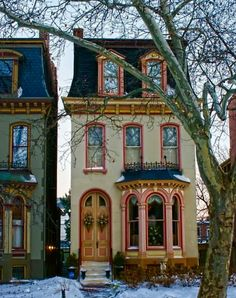 Small, Beautifully Detailed Victorian